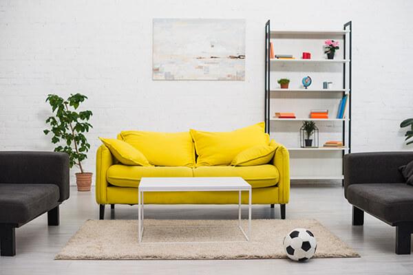 cuadros modernos para decorar el living